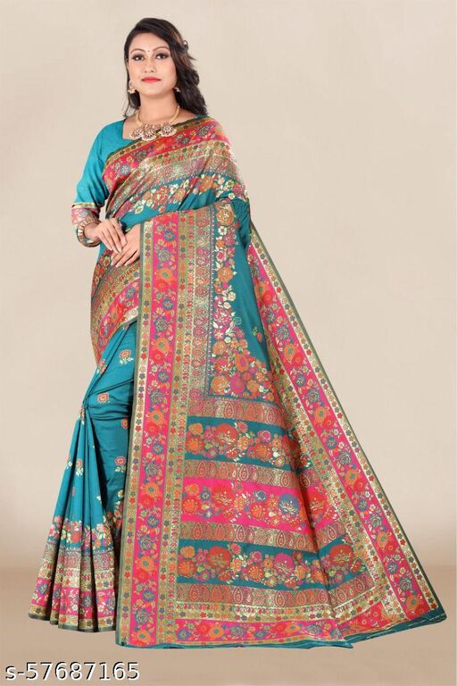 VIA 561 Avantraa Paithani Sarees