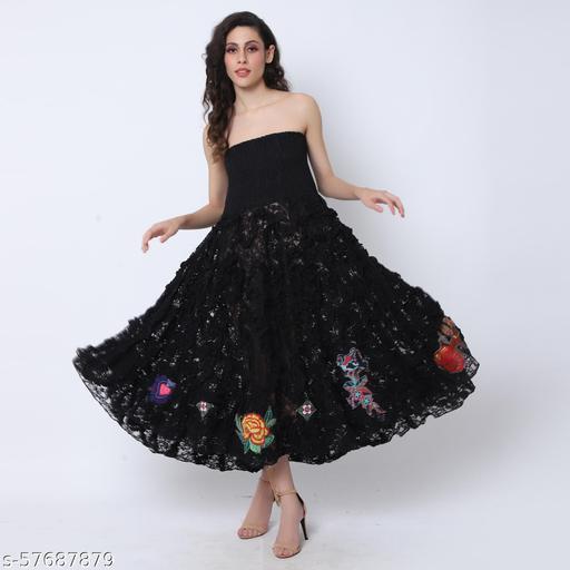 Best Clothing Tube Smocked Boohoo Lace Dress