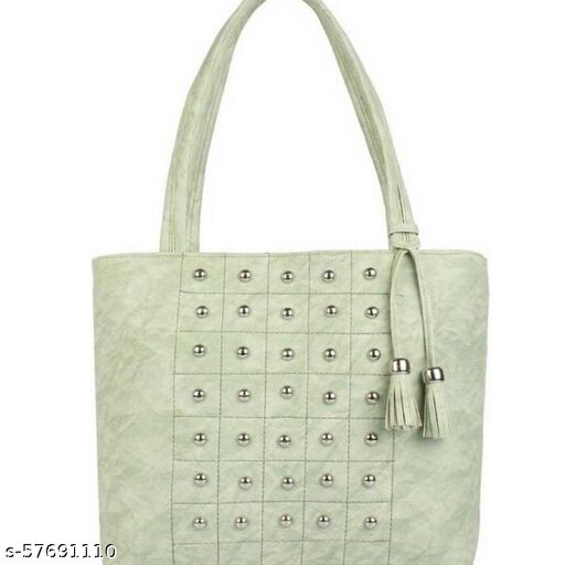 Green color Trendy and Stylish Handbag for Girls for Teachers / College / Fund / Study / Office use