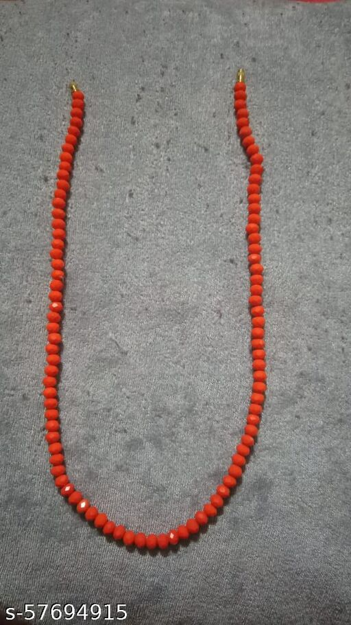 Beautyful Chain Mala , Red