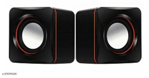 Wired Speakers BackBox 2.0 Multimedia USB Speaker For Computers