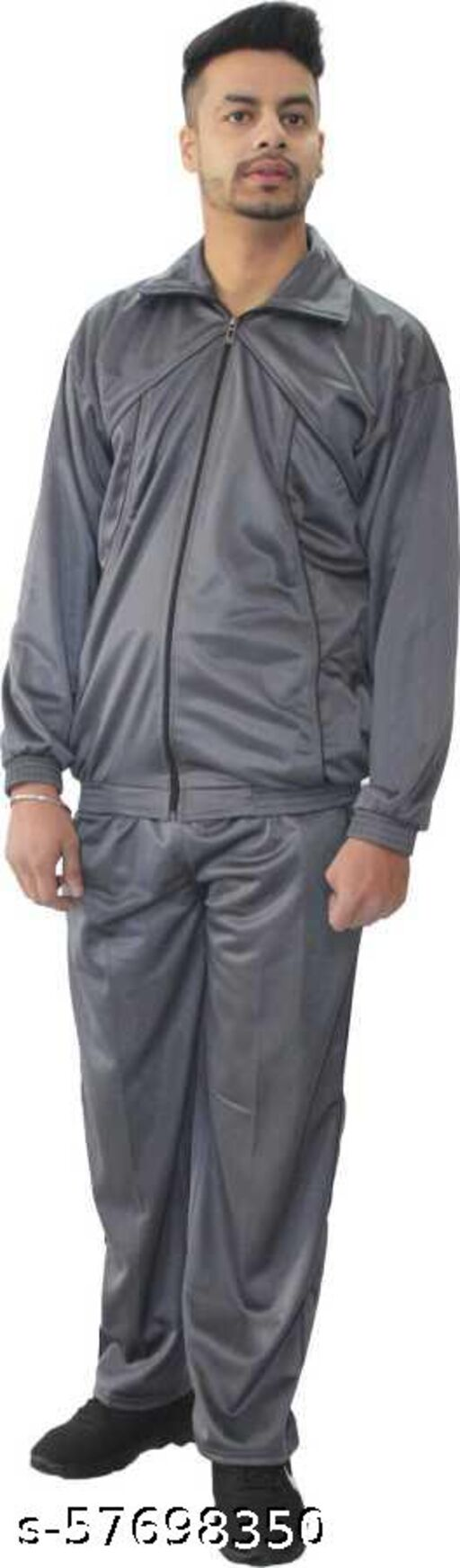 Men's Polyster Blend Track Suit for Winters