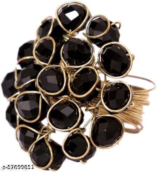 Crystal Trendy Handicraft Ring For Women & Girl