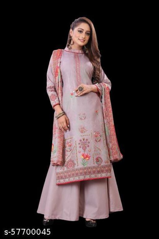 Nicky Textiles unstich women ethnic dress matrial salwar suit