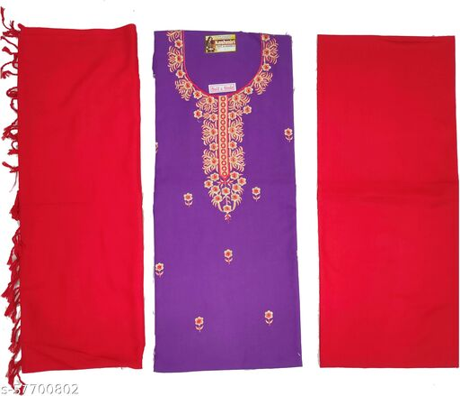 Vrinde KASHMIRI WOOLEN  Salwar Suits & Dress Materials
