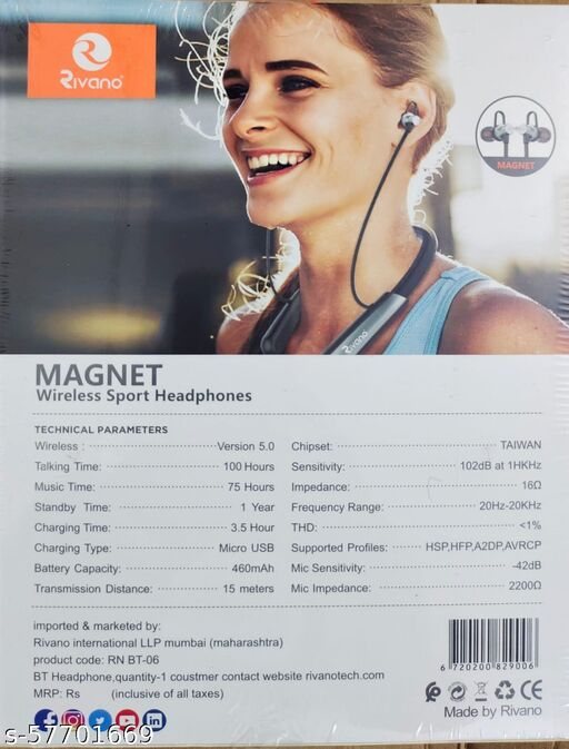RIVANO BT-06 Wireless / Bluetooth in the Ear