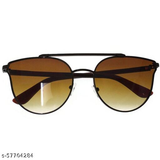 affable women over sized sunglasses by jazz inc, frame color copper and lens color brown (LWF138)