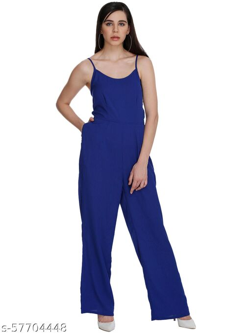 floor length jumpsuit with adjustable straps