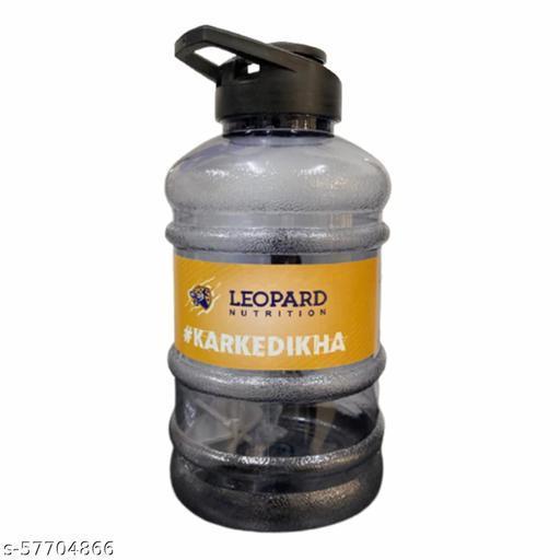 Leopard Nutrition Protein Shaker Bottle Gallon Water Bottle (1.5 Litre)