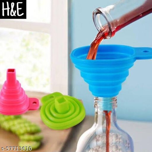 H&E Silicone Funnel
