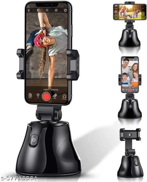 360 Object Tracking Tripod Selfie Mount Sturdy Holder Smart Auto Face Tracking for Smart Shooting Video Vlog