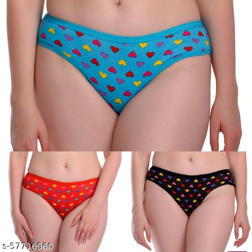 Cotton Printed Panty Soft & Comfortable Briefs