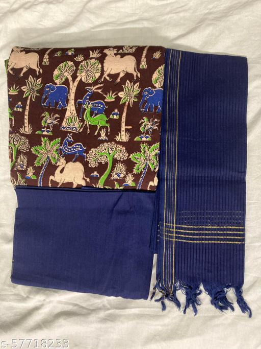 Cotton Kalamkari suit