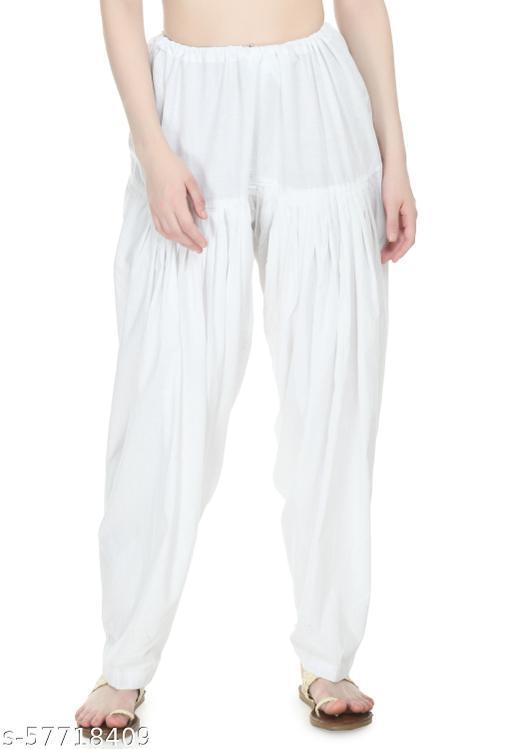 PREEGO Women Cotton Patiala Salwar