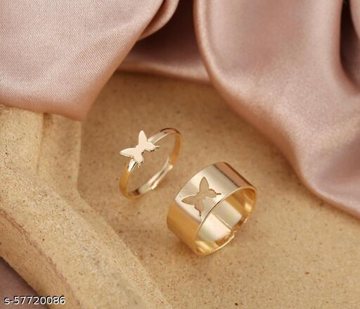 Couple Butterfly RIngs
