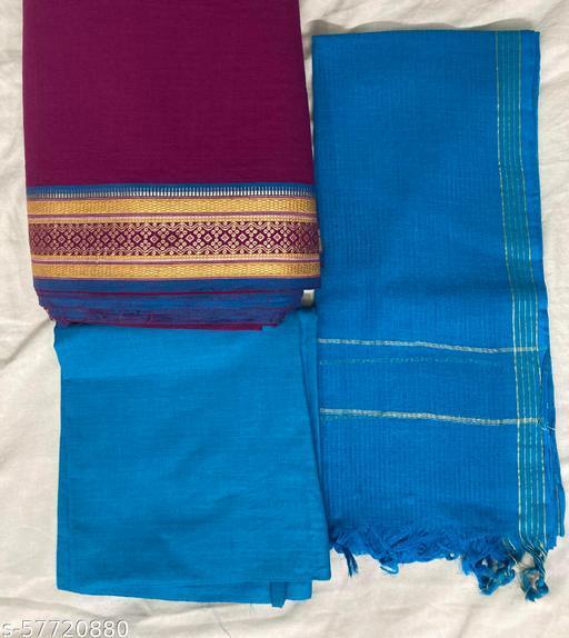 Cotton Salwar Suits & Dress Materials