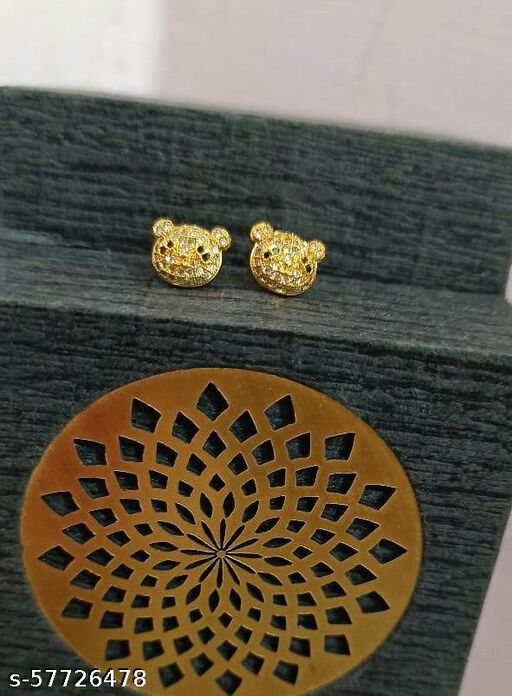 GOLD PLATED COPPER EARRINGS
