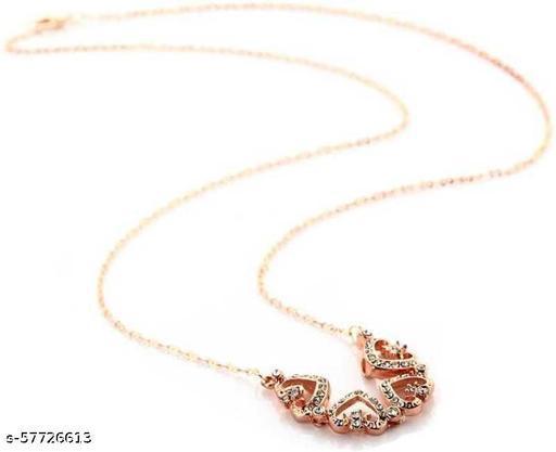 Four Heart Magnet Necklace