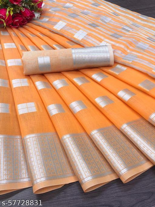 Laxmi Soft Linen Silk Saree