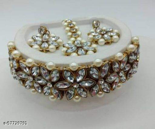 Alloy Gold-plated Jewel Set