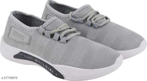 Lightmaterial Grey Shoes