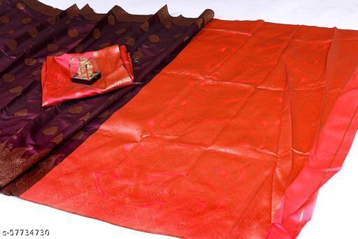 Banarasi Silk Saree with Beautiful Looks