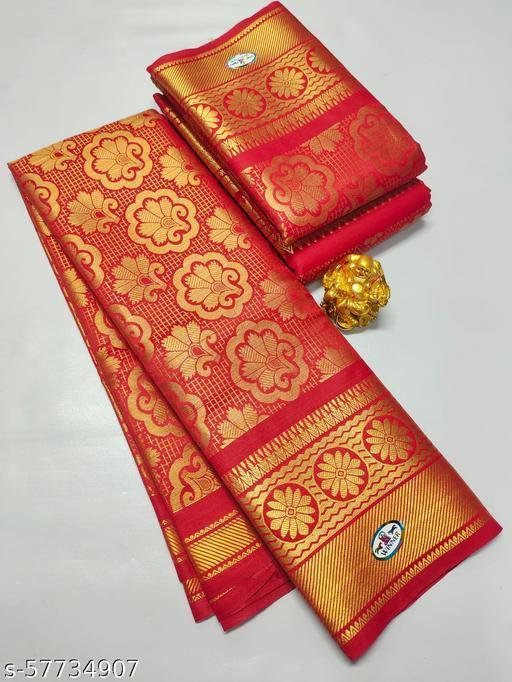 Armee's fancy jari work silk sarees