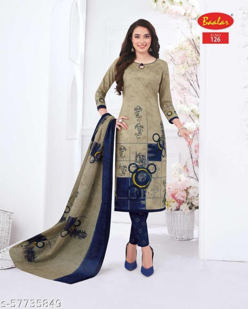 Brand: BAALAR/Pure Cotton Unstitched Salwar suit