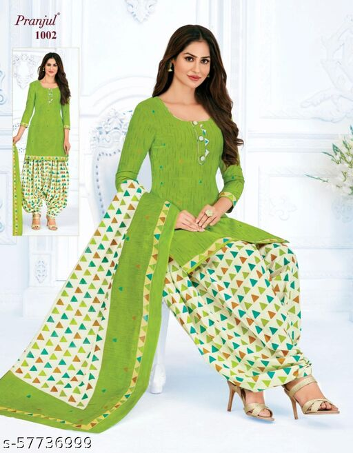 Brand: Pranjul/Pure Cotton Unstitched salwar suit