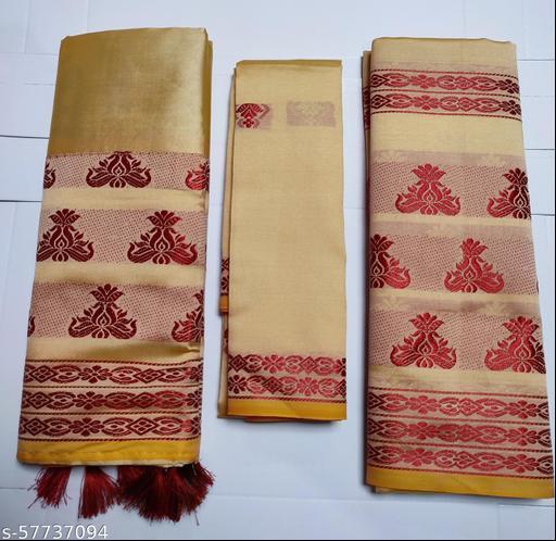 Assami joda  saree