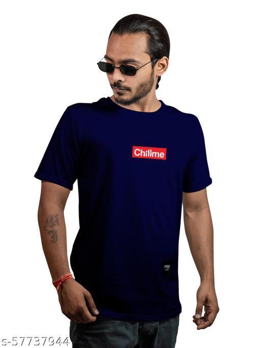 Solid Cotton T-shirt for Men