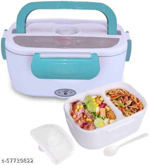 Multi Function Electronic Heating Lunch Box for Office Electric Heated Portable Food Warmer Lunch Box, Electric Tiffin Box for Office, Food Warmer Lunch