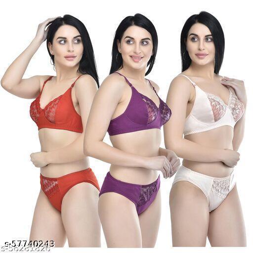 Boldlook Sama Set Pack of 3 Lingerie Sets