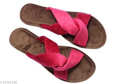 unique flat slipper for woman