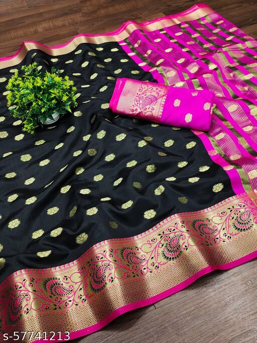 New Arrival Design Soft  silk saree