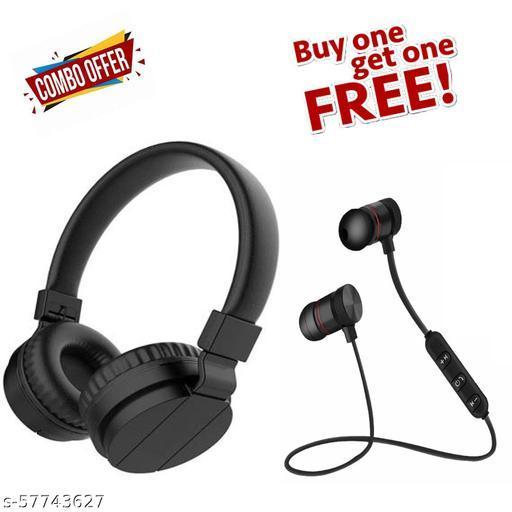 (BUY ONE GET ONE FREE) BUY SH 12 HEADPHONES AND GET MAGNETIC BLUETOOTH EARPHONE FREE