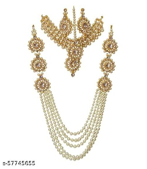 Rajasthan Gems Gold Plated  jewellery sets