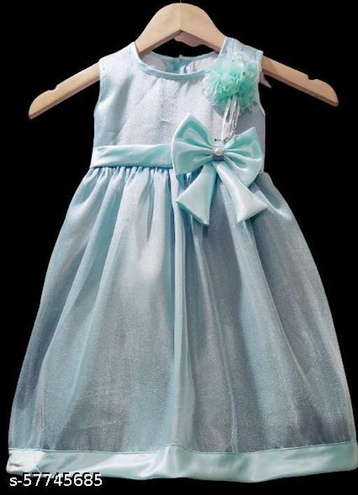 Agile Comfy Girls Frocks & Dresses