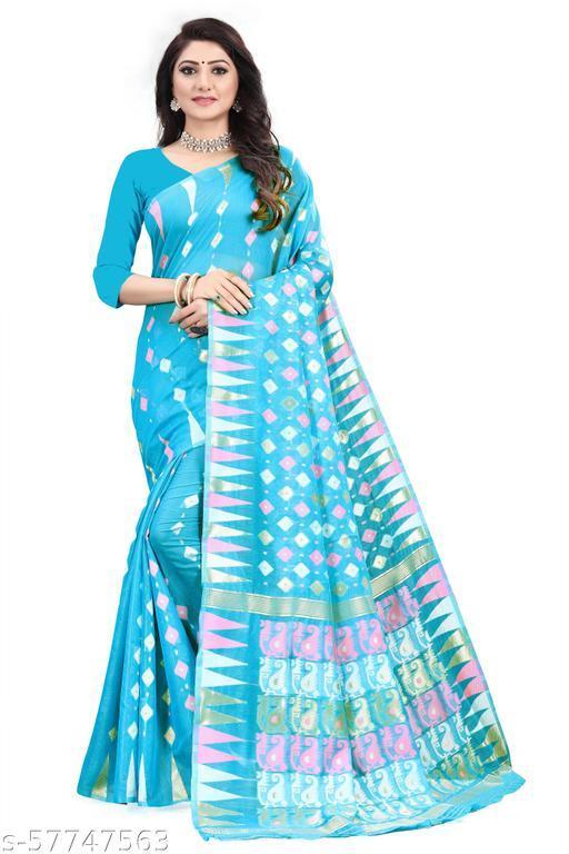 Dhakai Jamdani Woven Design with Light Weight
