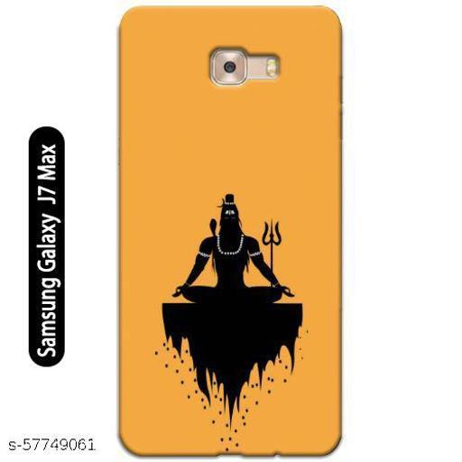 Samsung Galaxy J7 Max Back Cover Design Pattern Hard Printed Lightweight Slim Case (Lord Shiva Design)
