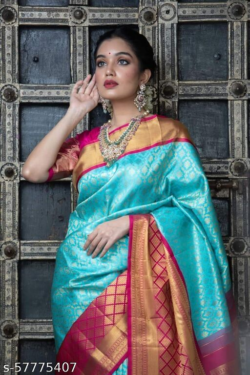 Fancy Jacquard Saree JIA