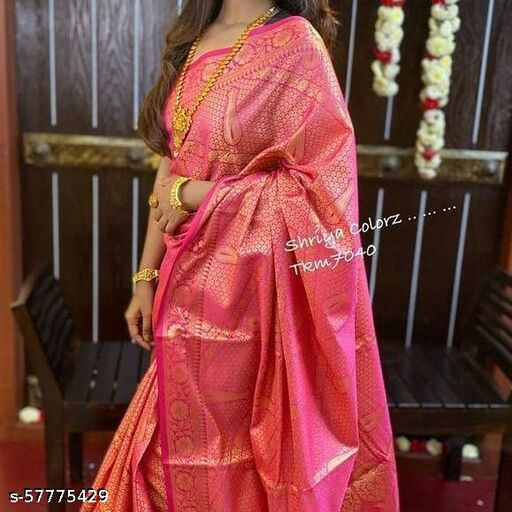 Fancy Jacquard Saree BALAJI