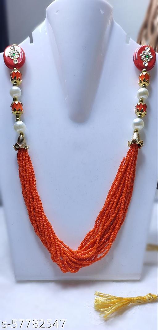 Hasthmade - Beautiful handmade Jaipuri Garlands with white pearls