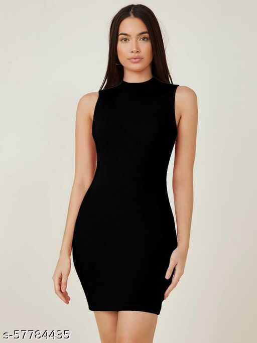 Bodycon Cut Slip Dress