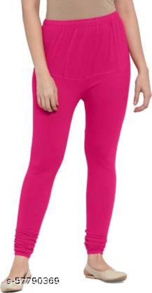 STUFY Designer Fashionista Women Pink Leggings