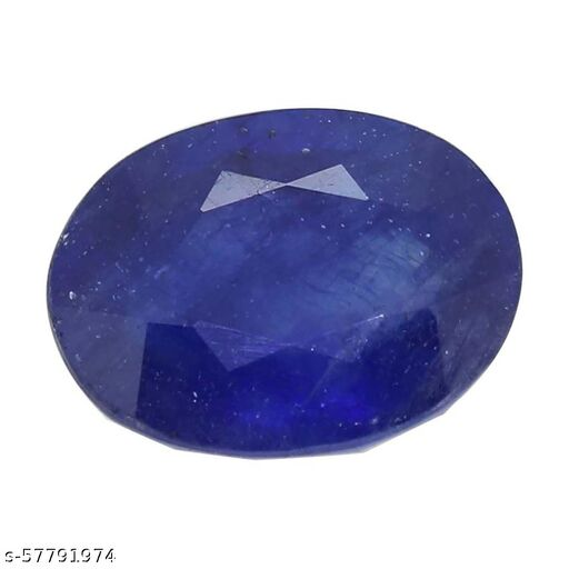 6.12 Carat Natural Certified Blue Sapphire Loose Stone