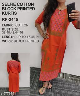 Ravishing Cotton Kurti