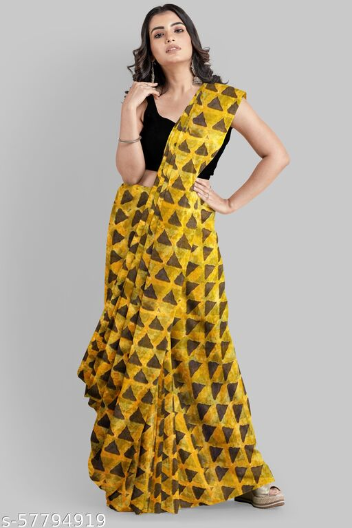 Bollywood Georgette Printed Saree