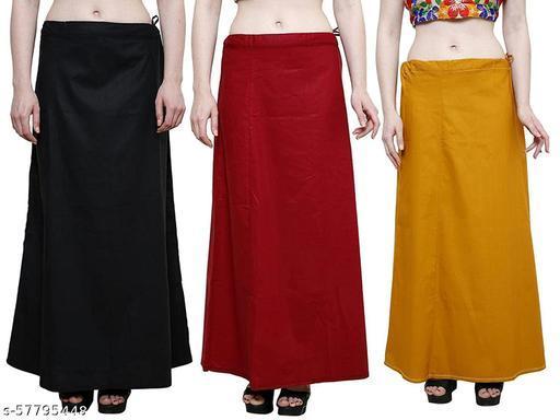 Comfy Women Petticoats set of 3 pcs