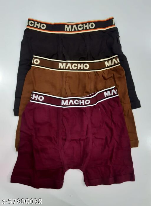 MACHO INTRO TRUNK ( PACK OF 3 )